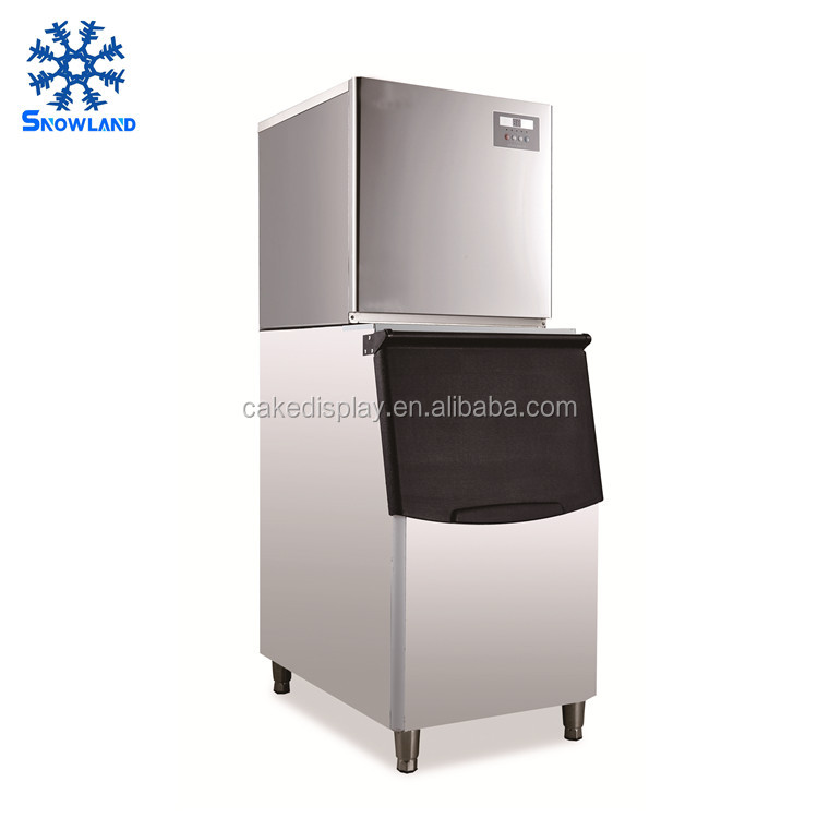 Commercial Ice Cube Maker Machine 500kg Capacity 20*20*20mm Cube Ice Machine Refrigerants