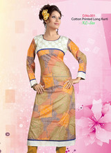 Pakistani designer long kurtis 2013