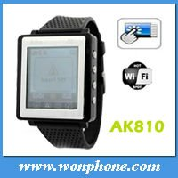 1.33 inch touch screen Aoke 810A Wrist Watch Phone from Shenzhen China Good Quality