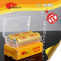 High quality IMREN 18650 gold 3500mah 30A rechargeable battery