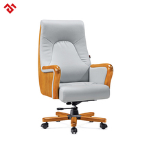 High quality modern leather computer swivel executive office desk classic chair