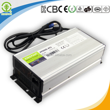 three stages automatic 24v 600w series lifepo4 battery charger for golf cart