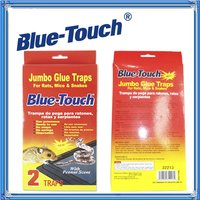"Blue-Touch Peanut Butter Scented Mouse Control Glue Board Traps ""Case of 48"""