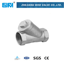1 /2 -4 Inch Stainless Steel 800PSI Y Type Female Filter Strainer