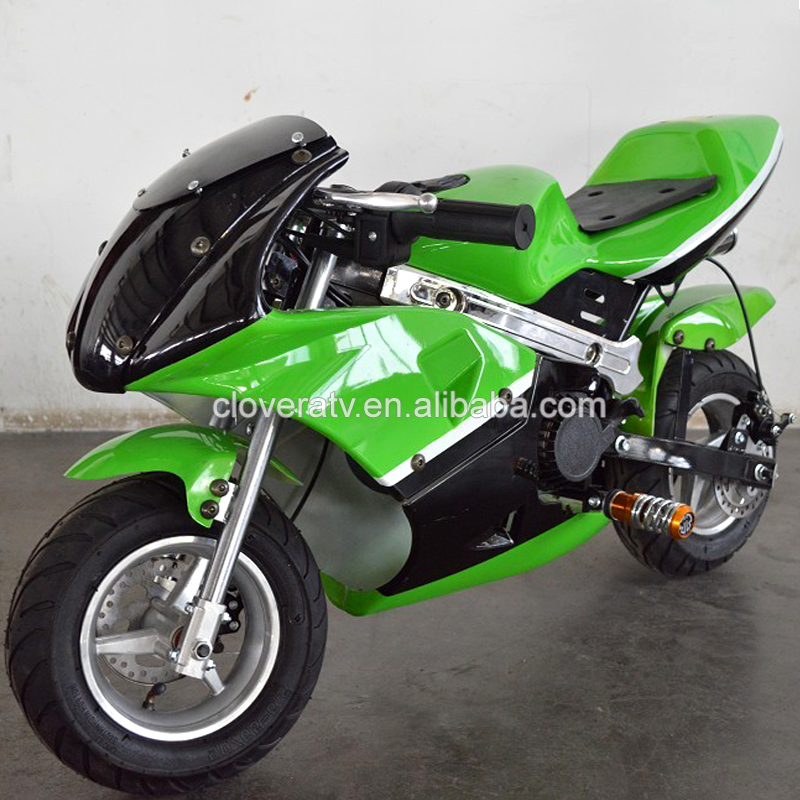 Chinese Popular Motorcycle 49CC Pocket Bike with CE ISO