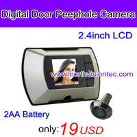 "Good price, 2.4"" LCD Digital Door Viewer with Peephole Camera,2AA battery"