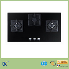 Cheap Price 3 Burner Built in Tempered Glass Top Gas Stove/Gas Cooker/Gas Hob