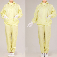 anti-static fabric uniforms and work clothes/ESD cleanroom smock