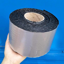 HDPE Self-adhesive Cross Laminated Waterproof Tar Sheet Roof Membrane