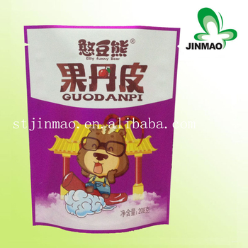 Aluminum Foil Laminated Stand Up Dry Fruit Packaging Design