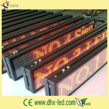 P7.62 taxi led sign panel