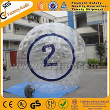 inflatable toy inflatable ground zorb ball human hamster ball for land TZ194