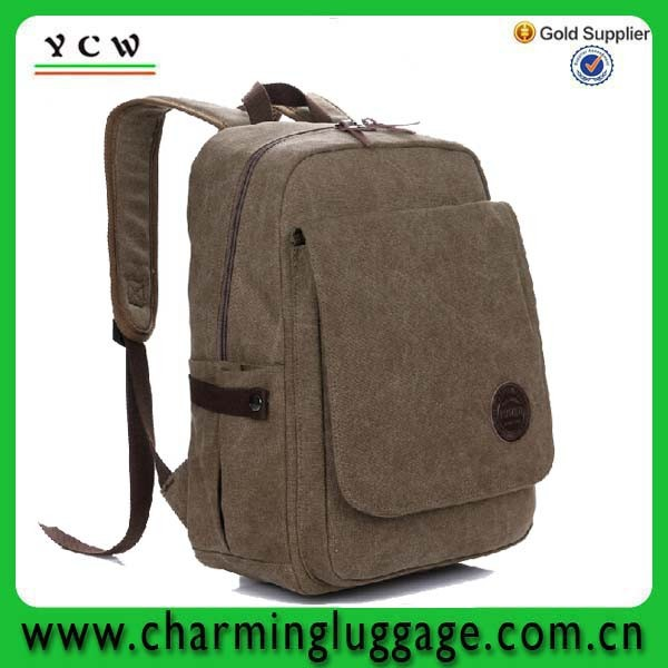 china manufacturer 2011 school bag with brown color for travel
