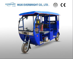 China motor 3 wheel petrol passenger tricycle for adults