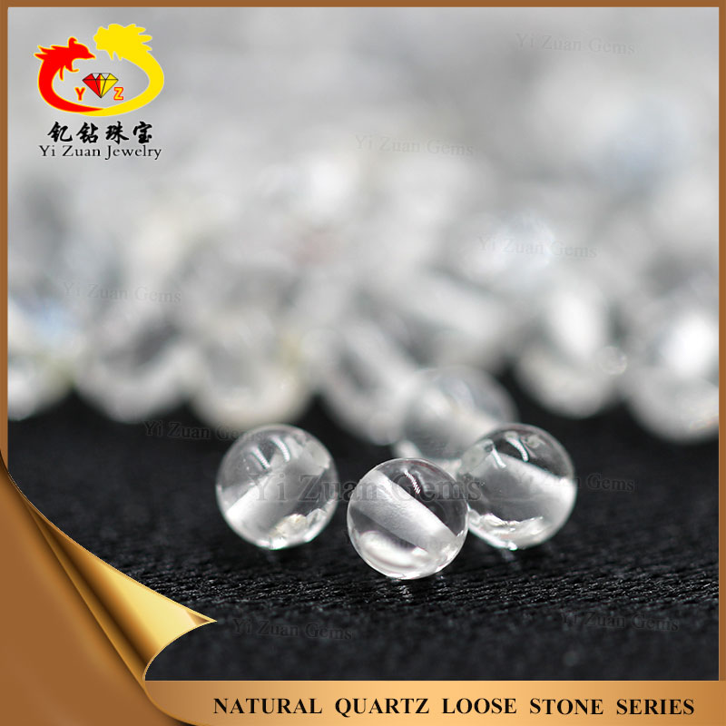 Cheap jewelery wholesale white crystal beads in bulk