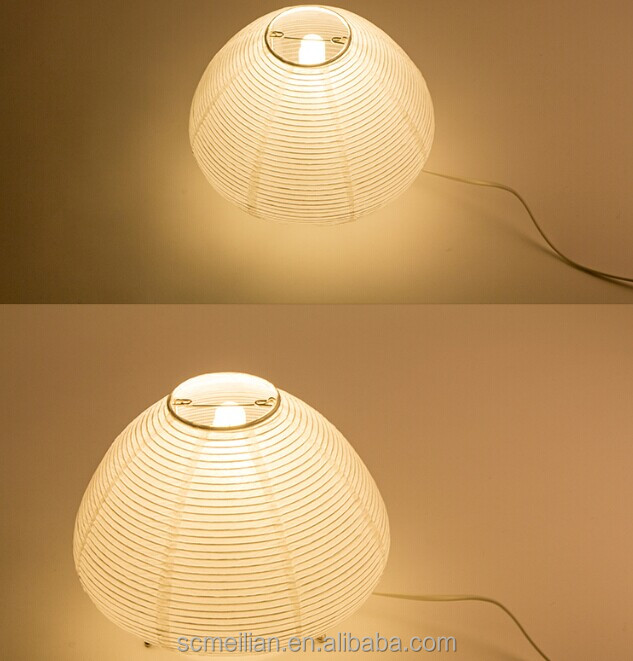 Made in China paper material table lamps for family room