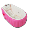Portable PVC inflatable baby bathtub, folding bathtub for baby