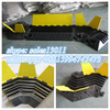 cable protector ramp/fiber cable protection tube/fiber groove