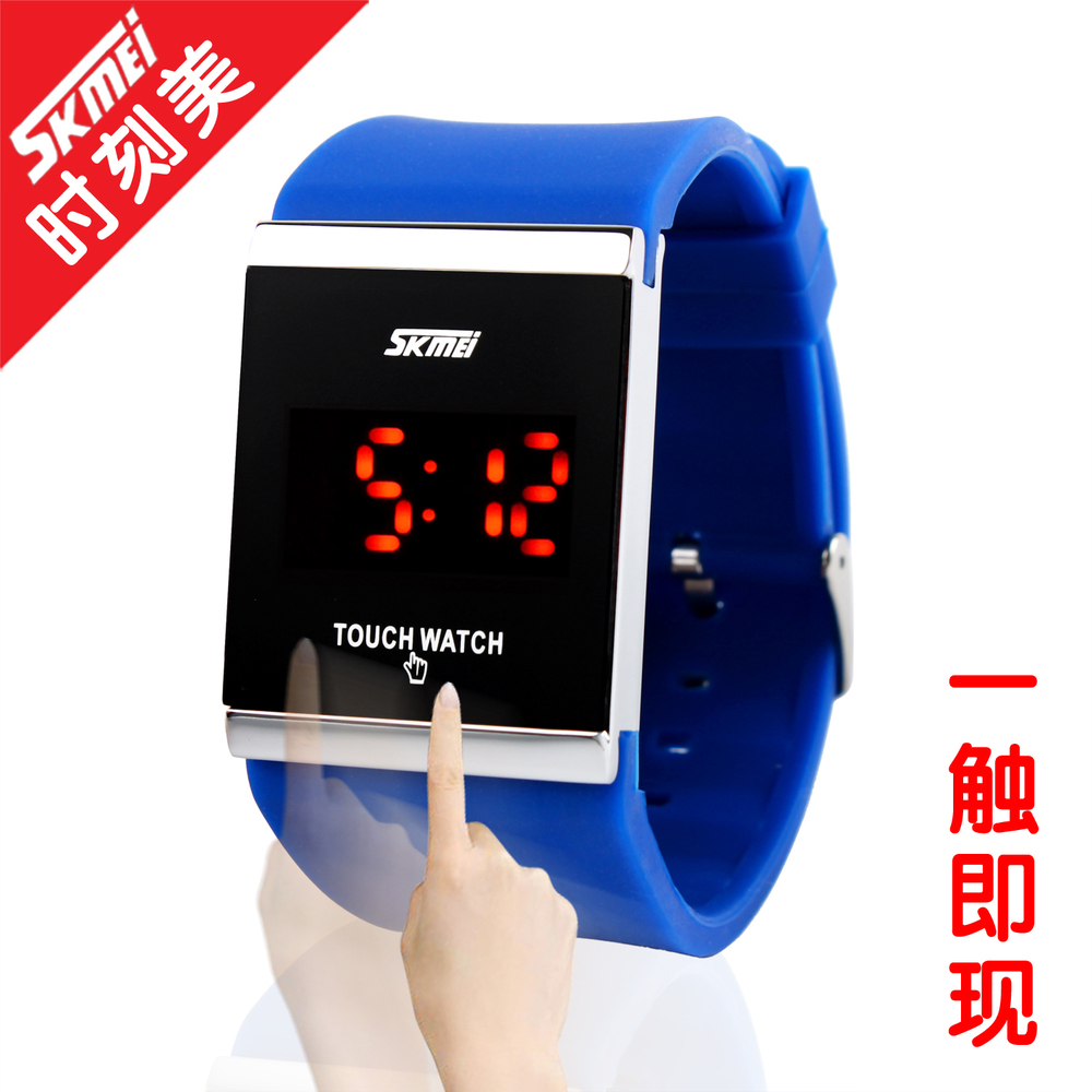 OEM top quality nickel free fun touch cheap silicone watches