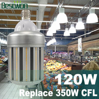 High power 20w 30w 40w 50w 60w 70w 80w 90w 100w 120w 360 degree E26 E27 E39 E40 UL cUL 100w led cob corn bulb light lamp