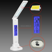 Newest products portable USB rechargeable led table lamp foldable led desk lamp office and hotel reading lamp