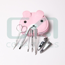 New promotion wholesale animal print manicure set