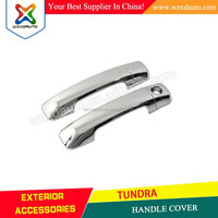 07-12 TOYOTA TUNDRA FJ CRUISER GLOSSY 2DR DOOR HANDLE COVERS CHROME KIT (Fits: Tundra) 2007 2008 2009 2010 2011 2012 2013 2014