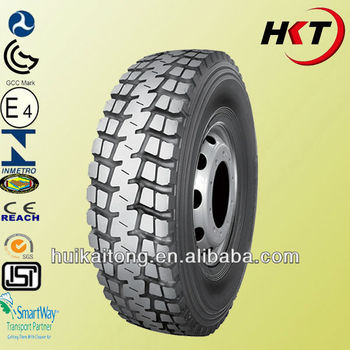 truck tyre with GCC,ECE REACH,SMARK,EULABEL,GCC ,SNI.INMETRO certifications