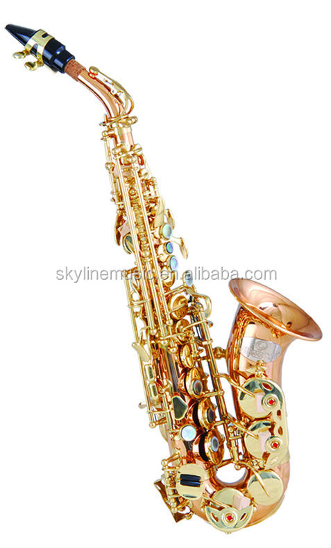 SSC-1010 curved bell soprano saxophone