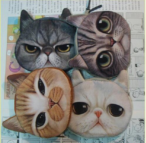 2016 Hot selling style lovely sample different size pet coin purse