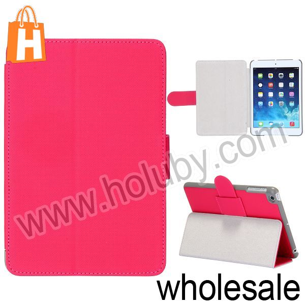 New Arrivals Smart Folio Leather Case for iPad Mini 2 Retina with Stand