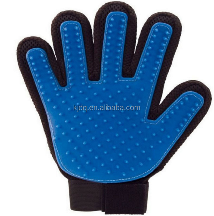 massage gloves for bathing pet gloves for dog and cat cleaning dog glove brush