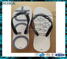 100 Natural rubber beach rubber embossed women flip flop