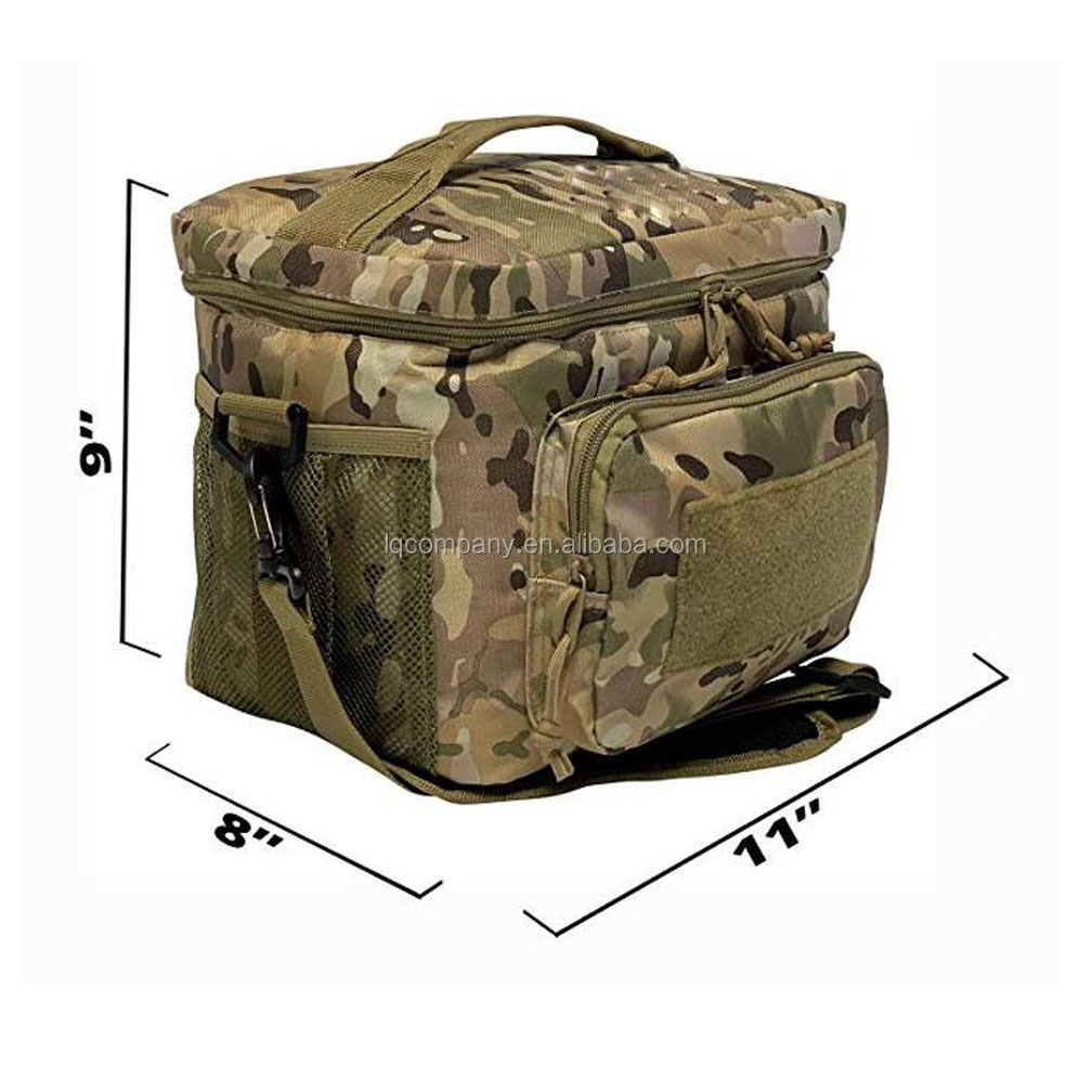 Tactical Lunch Bag with Molle Webbing System
