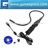 USB Interface Endoscope Inspection Video Borescope Camera 8.5mm (0.35in) diameter w/ 2 adjustable brightness LED lights