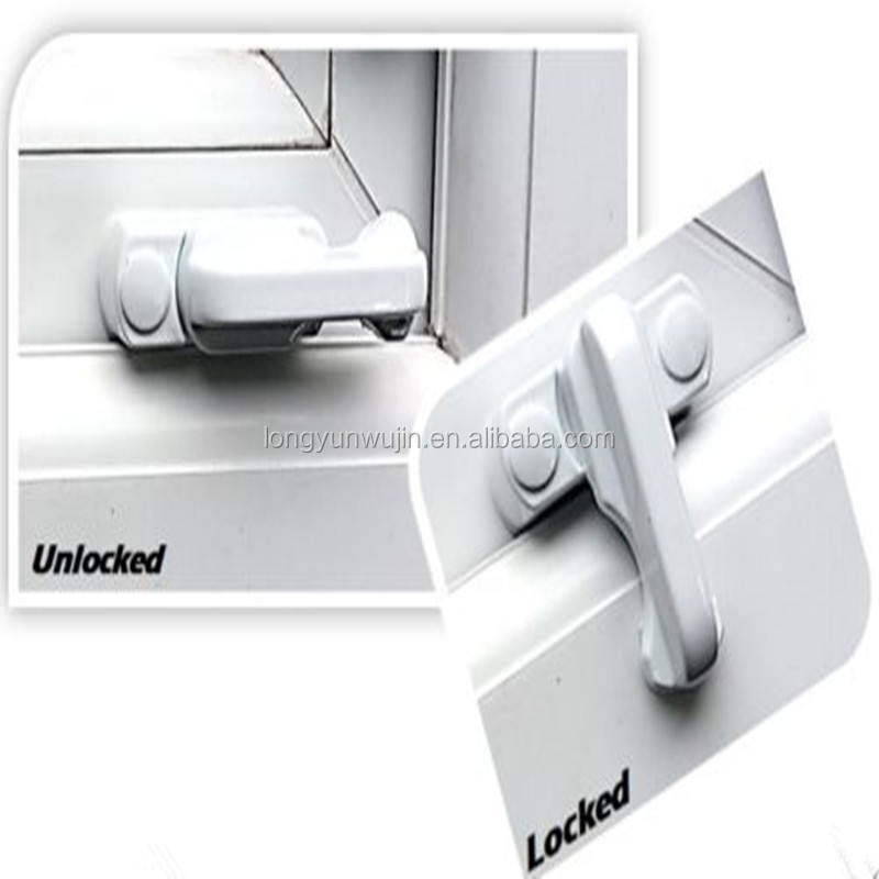 Sash Blocker Jammer UPVC Door / Window Restrictor Lock Added Security