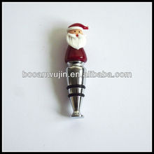 Great Christmas gifts Snow Santa wine bottle stopper