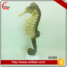 Decorative indoor resin sea horse for sale