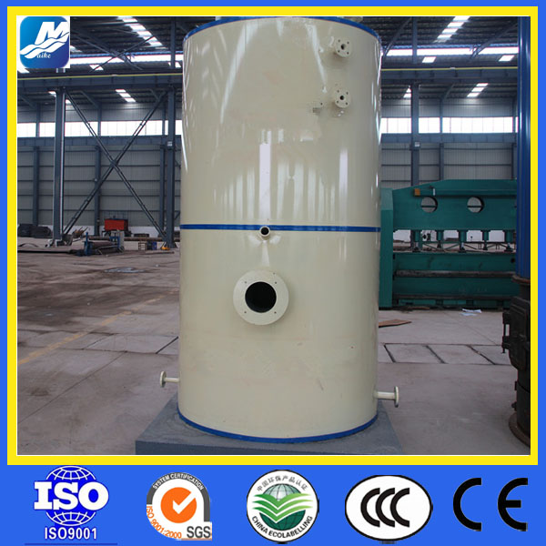 vertical type diesel natural gas fired 300kg steam boiler,oil gas fired heating boiler