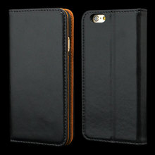 Two Leather Combos Wallet Leather Case for Iphone 6