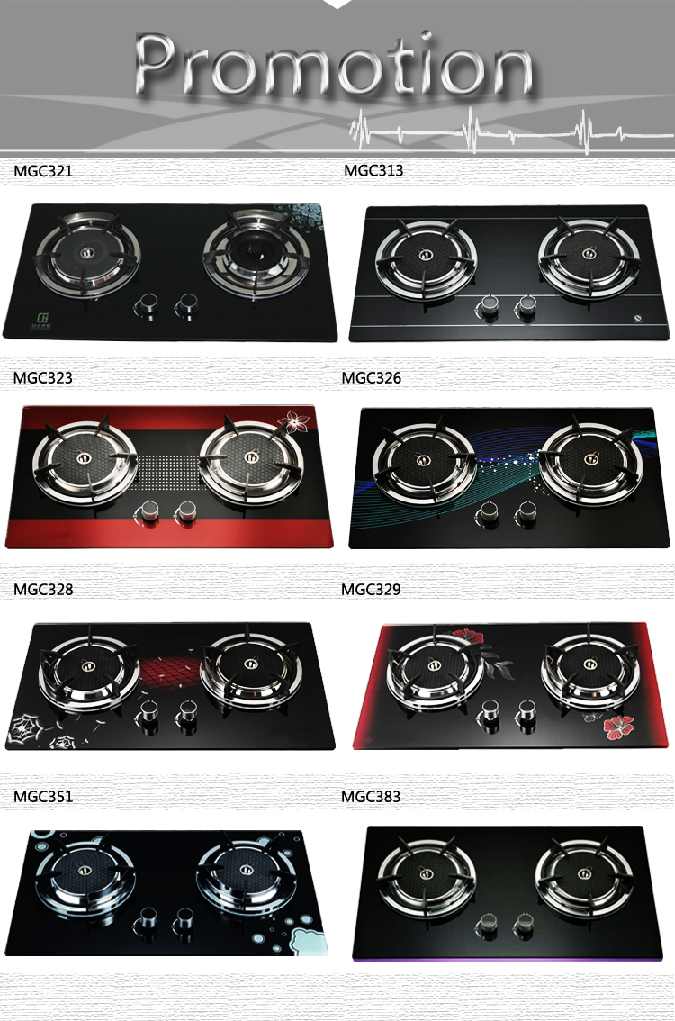 2015 hot sale gas stove parts Kitchen Appliances 2 burner portable gas stove