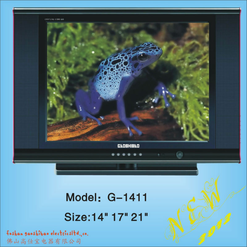 "17 inch normal flat crt color tv, crt tv 14""/15""/17""/21"" inch crt tv product"