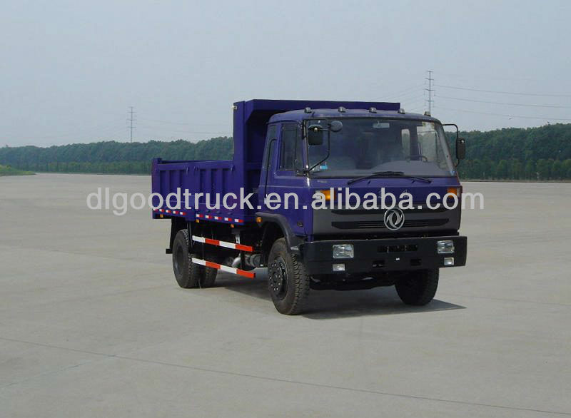 Dongfeng 4x2 small dump truck for sale