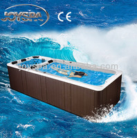 Christmas Style Whirlpool Fiberglass Luxury Hot Swim Spa Pool in Supreme PROMOTION JY8601
