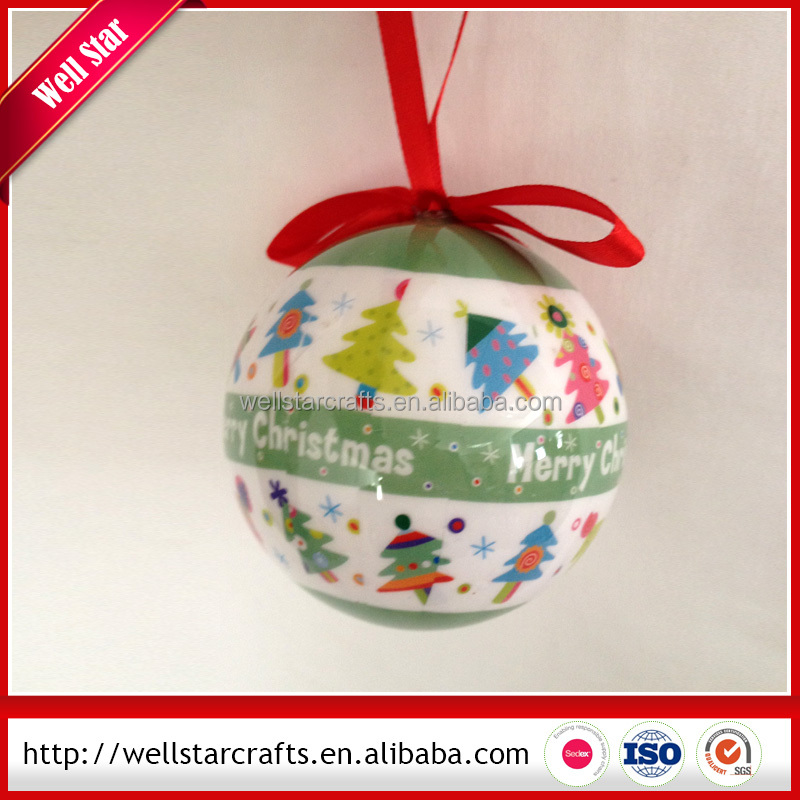 Factory direct sale New design Polyfoam christmas ball/christmas gift from China