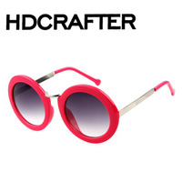 Promotional Printed Round Lens Latest women Ladies Sunglasses