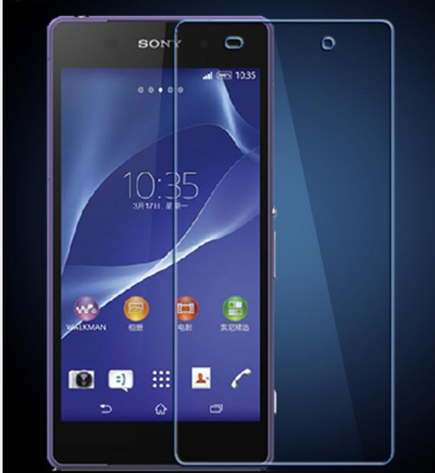 9H premium tempered glass screen protector for sony z2 factory price for sale