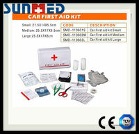 High Quality Plastic Automobile First aid kit