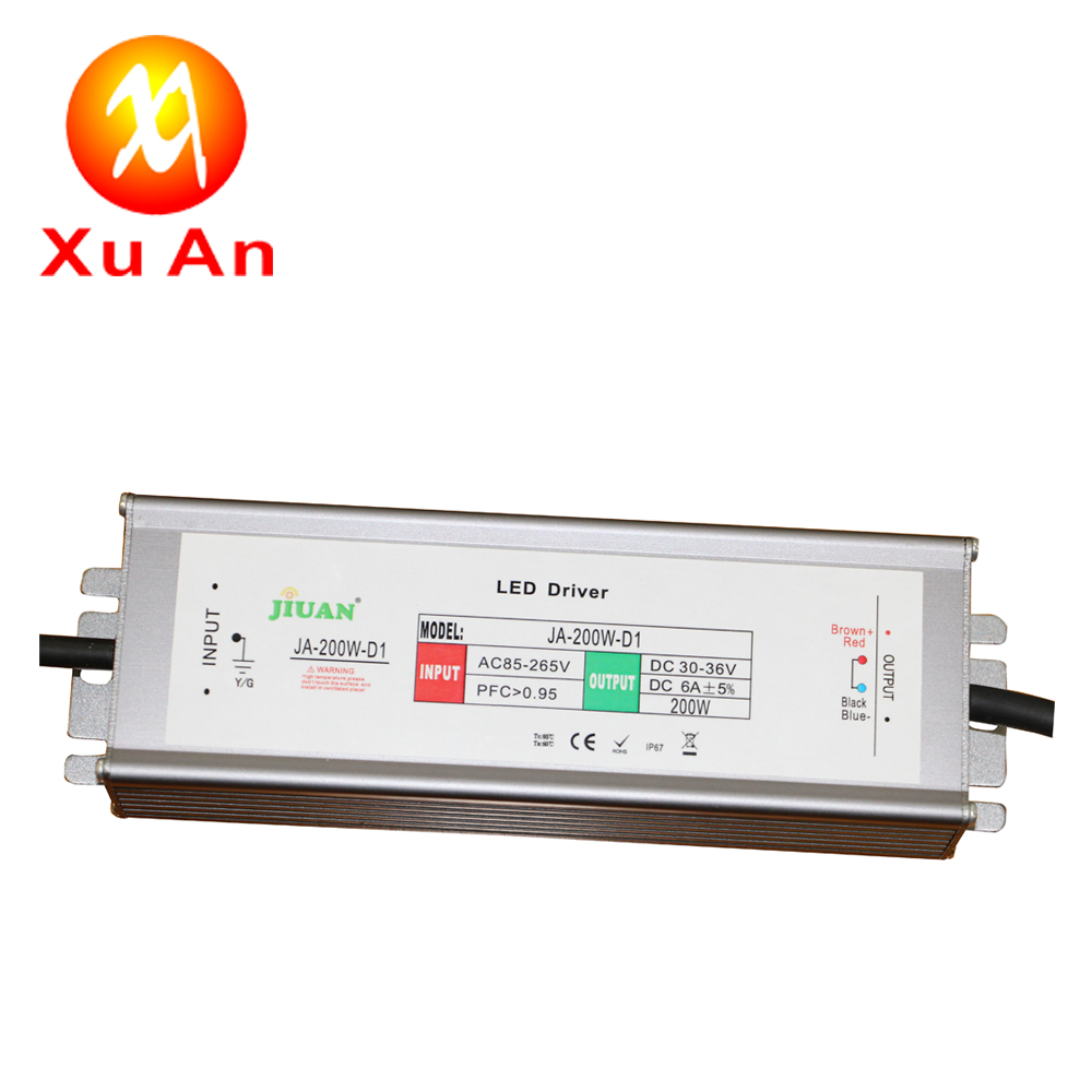 waterproof IP67 20W 30W 50W 70W 100W 200W LED DRIVER