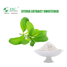 GMP&ISO Manufacturer Natural Reb A Powder Stevia Leaf Extract Sweetener